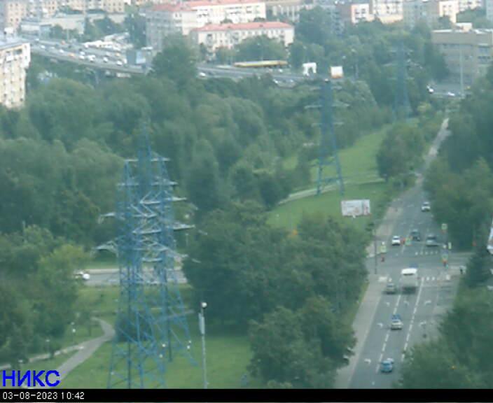 веб камера в Москве ВДНХ